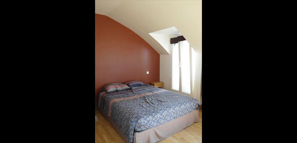 Rénovation d'appartement à Paris : chambre