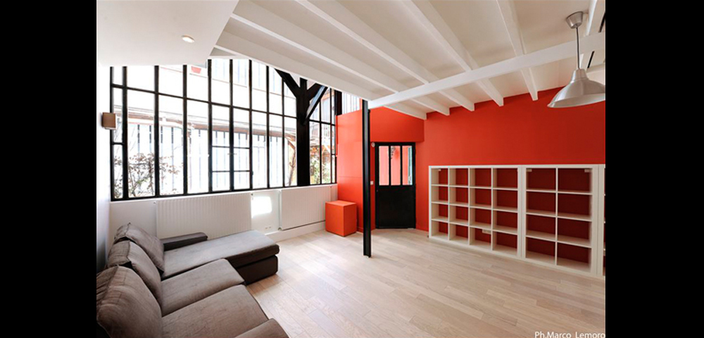 Cr ation ou r novation de loft paris entreprise tce for Photo de loft renover