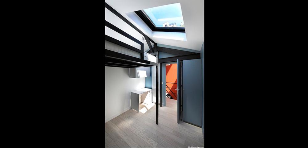 Rénovation de loft à Paris et région parisienne : chambre