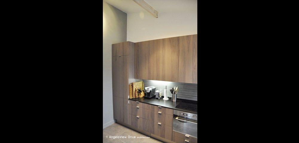 Rénovation d'une cuisine dans un appartement haussmanien à Paris