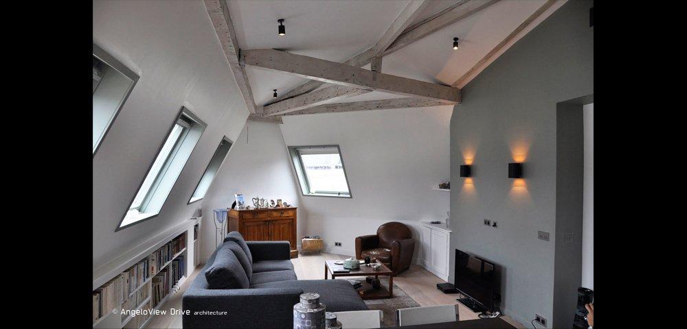 Rénovation Appartement sous les Toits à Paris