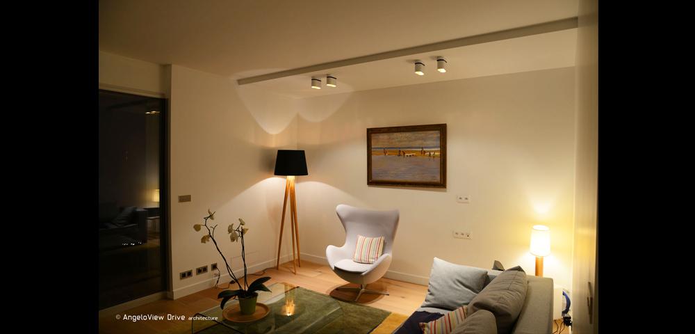 Renovation d'un appartement haut de gamme à Paris : séjour
