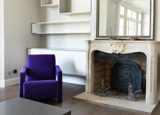 Rénovation d'appartement haussmanien : Séjour