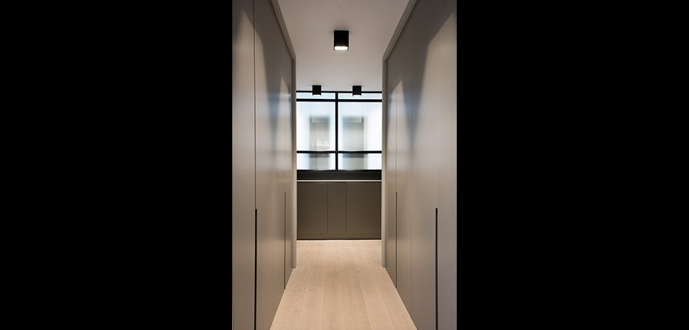 Rénovation d'une maison à Neuilly Sur Seine : Couloir