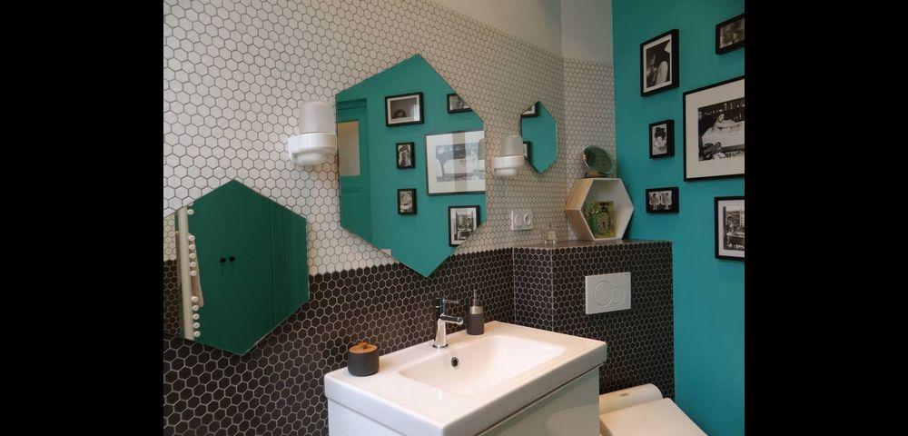 Rénovation d'appartement à Paris 11 : salle de bain