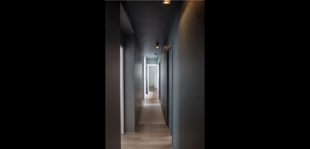 Entreprise de rénovation Paris 15 : couloir