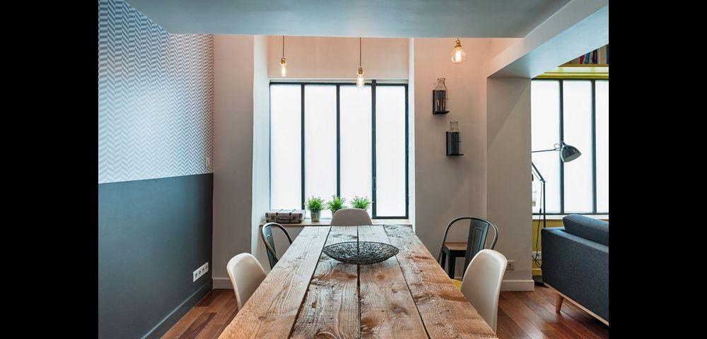 Rénovation d'appartement à Paris 17 : salle à manger