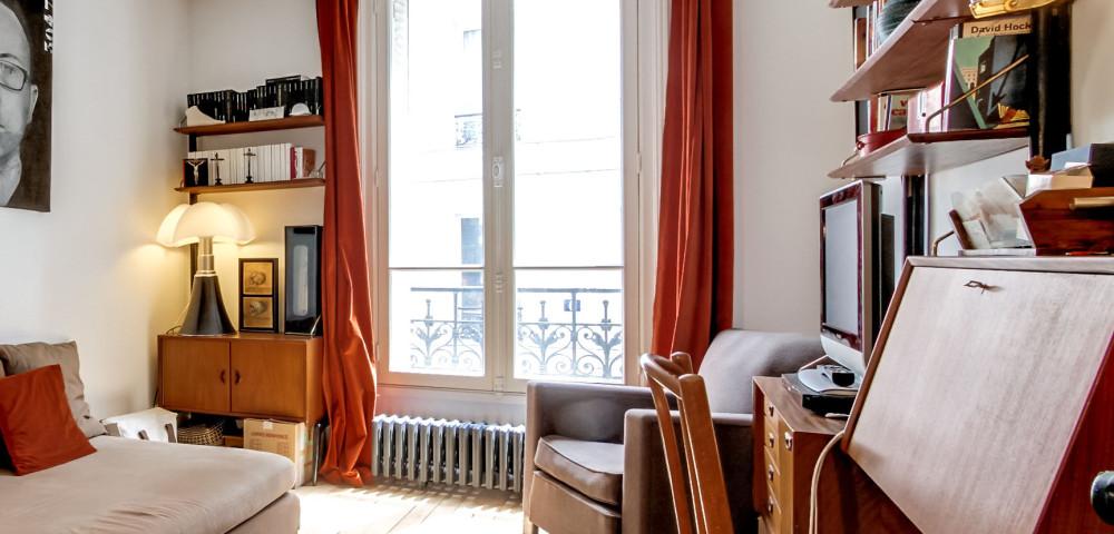 Rénovation appartement paris 18 - chambre