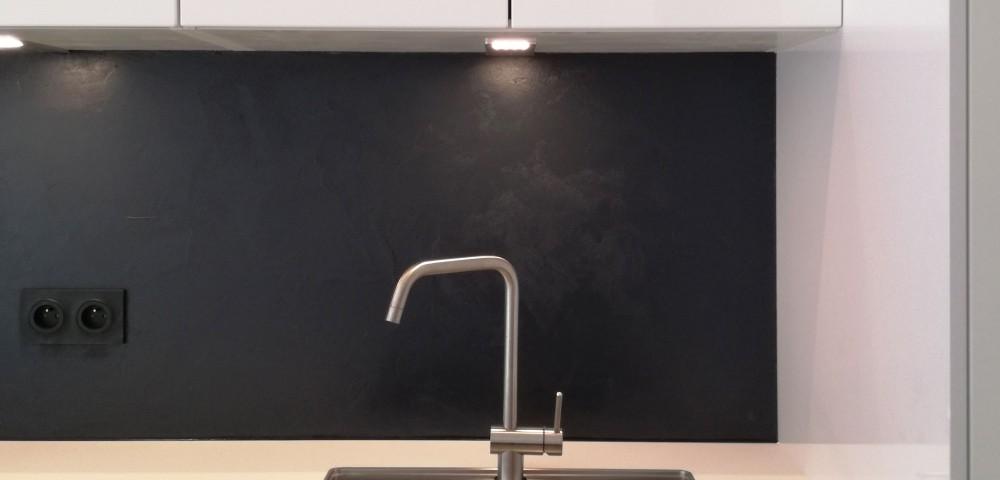 Travaux de rénovation d'appartement dans le 19ème arrondissement de Paris : cuisine