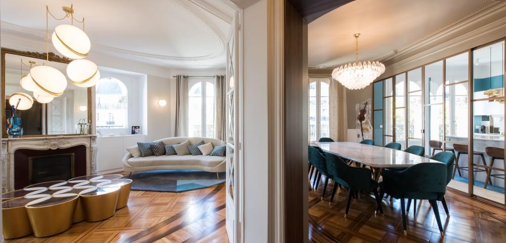 Rénovation appartement Paris 7