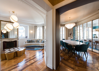 Rénovation d'un appartement à Paris