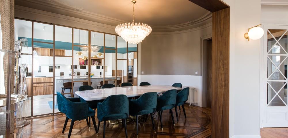 Rénovation appartement Paris 7 - Salle à manger