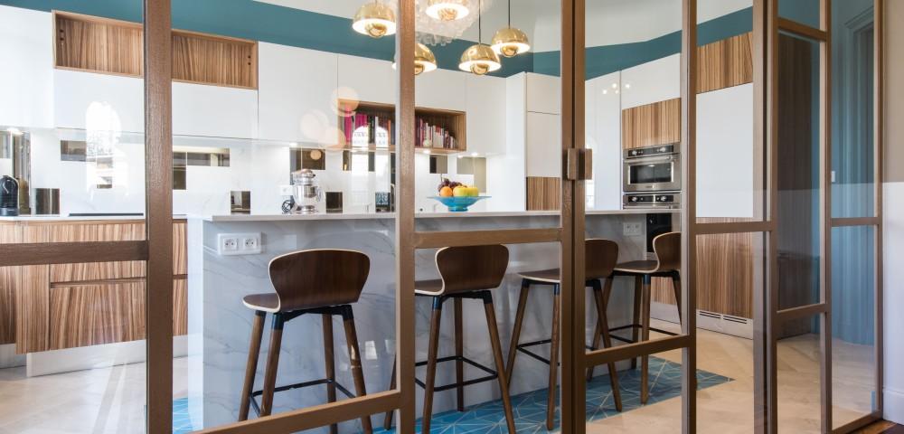 Rénovation appartement Paris 7 - Cuisine