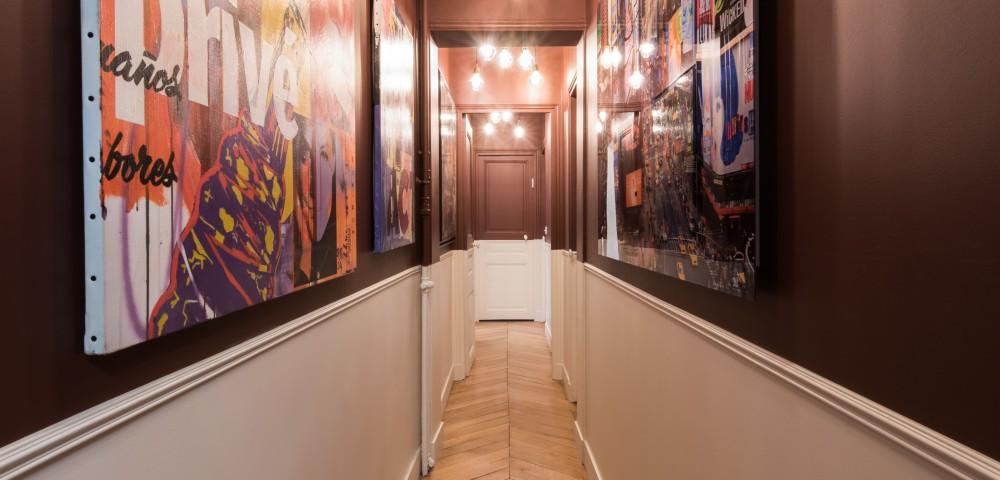 Rénovation appartement Paris 7 - Couloir