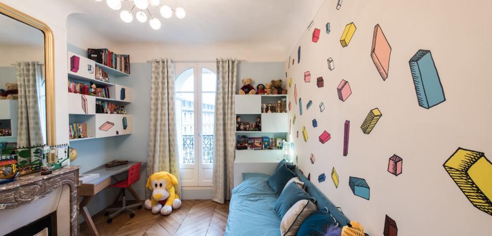 Rénovation appartement Paris 7 - Chambre