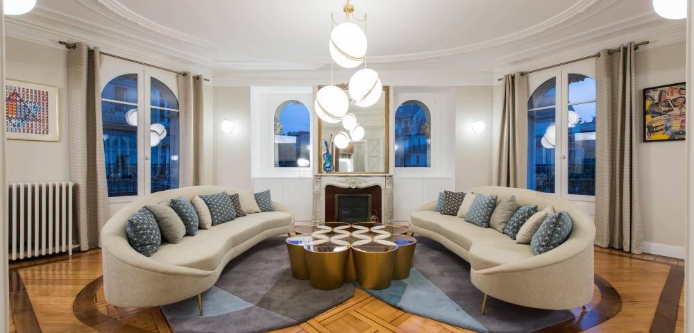 Rénovation appartement Paris 7 - Salon